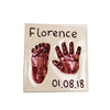 Square Hand & Foot Plaque