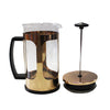 Large Copper and Glass Cafetiere
