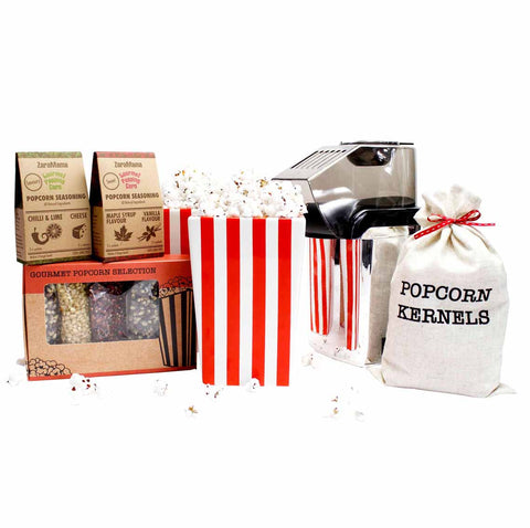 Popcorn Maker Set - Everything you need for a Lockdown Movie Night!
