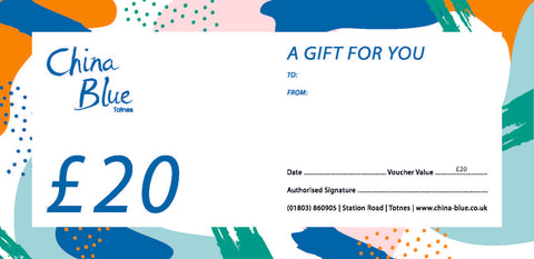 China Blue Gift Voucher