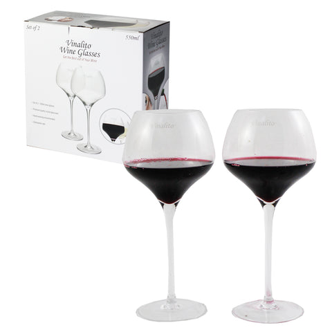 Set of 2 - Vinalito Wine Glasses