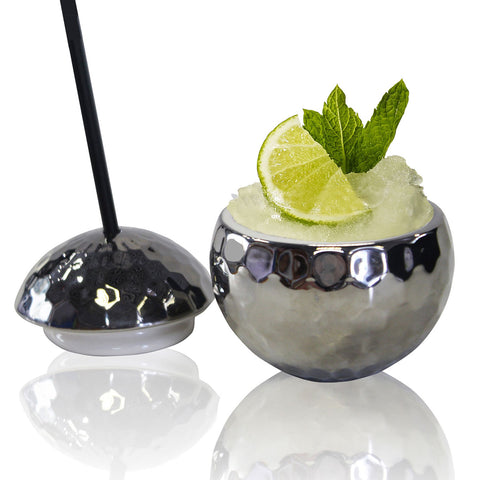 Disco Ball Ceramic Cup from China Blue