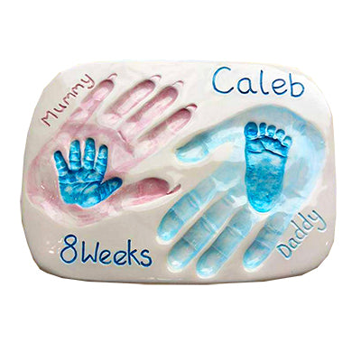 Family Hand & Foot Plaque