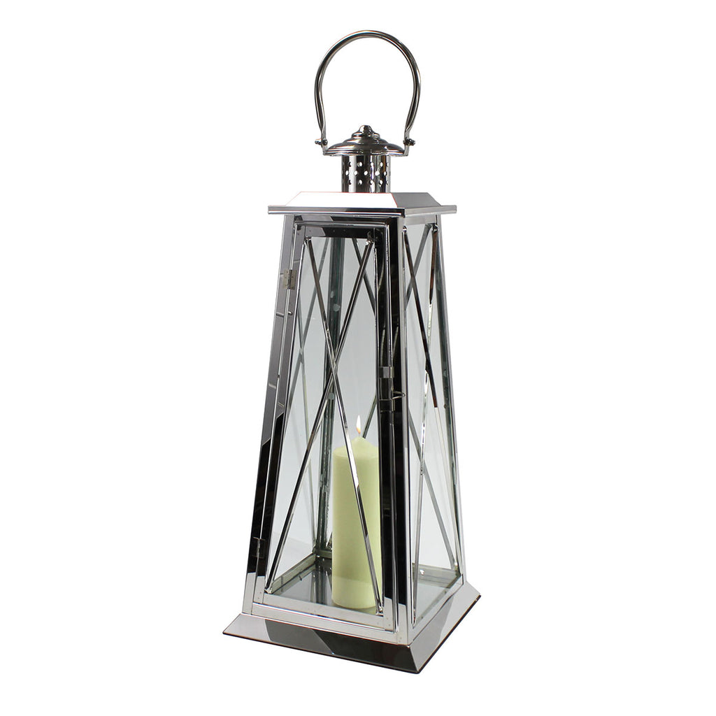Large Lantern from China Blue