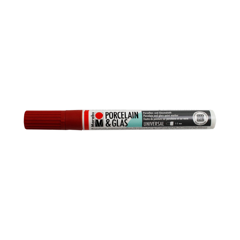 High-gloss Ceramic and Glass pen - Red