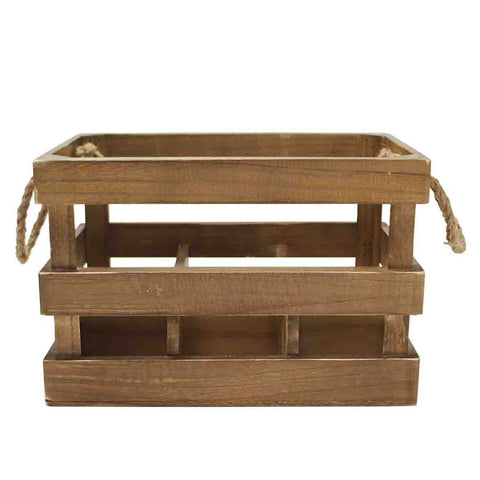 Wooden Bottle Crate from China Blue