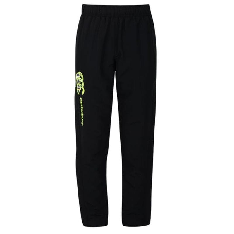 Boys Uglies Tapered Open Hem Stadium Pants AW16 - Black