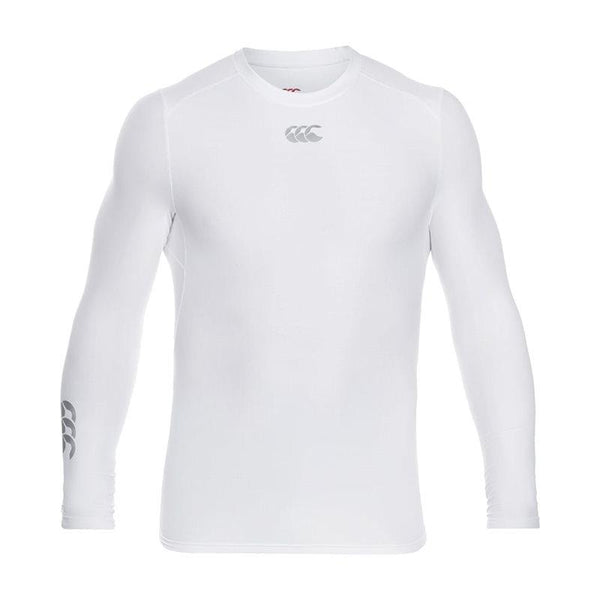 Canterbury Thermoreg Long Sleeve Baselayer Top - White