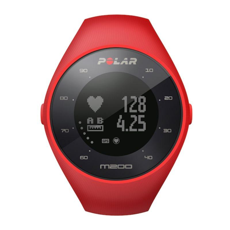 M200 GPS Running Watch - Red
