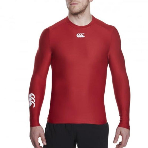 Canterbury Thermoreg Long Sleeve Baselayer Top - Flag Red