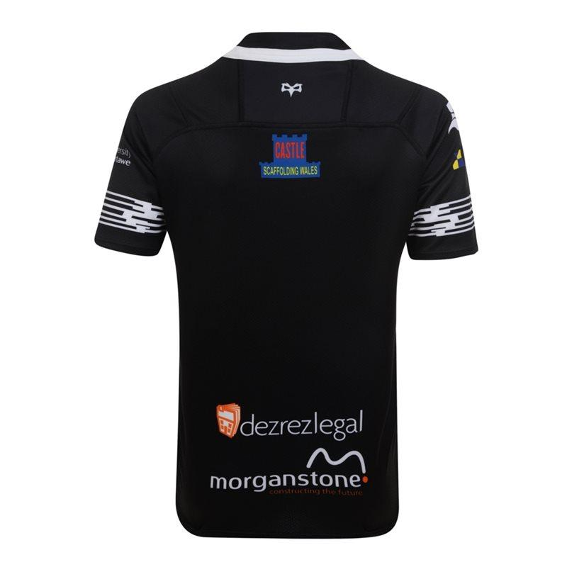 Ospreys Vapodri+ SS Junior Home Pro Jersey 2017