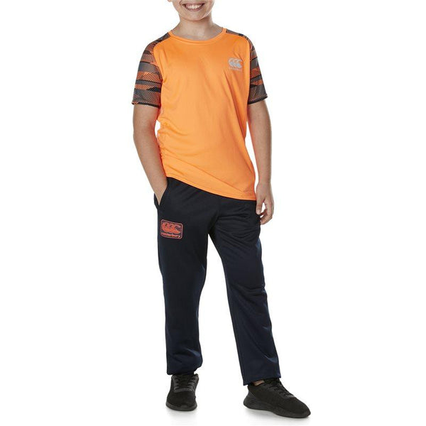 Kids Tapered Cuff Fleece Pant - Total Eclipse