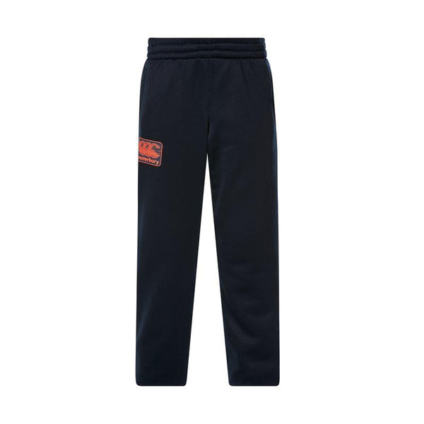 Canterbury Kids Tapered Cuff Fleece Pant - Total Eclipse