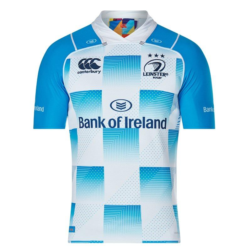 Leinster Vapodri+ Kids Alternate Pro S/S Rugby Jersey 17/18
