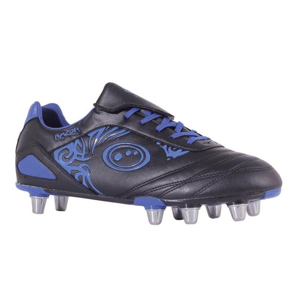 Optimum Razor Rugby Boots - Black/Blue