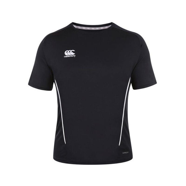 Canterbury Team Dry Tee Senior - Black/White