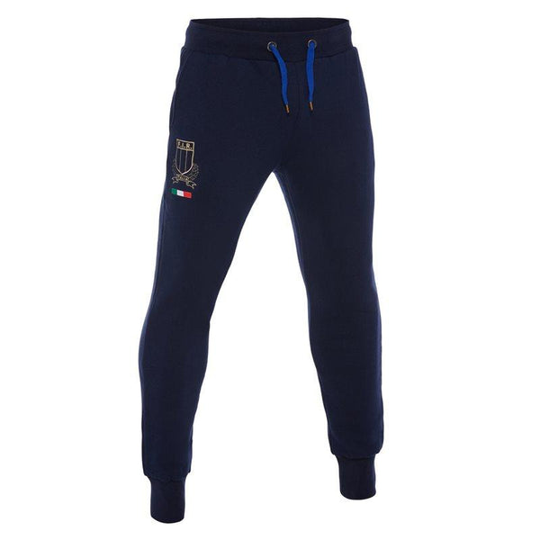 Macron Italy Rugby FIR Linea Fan Brushed Cotton Pant SR 2017/18