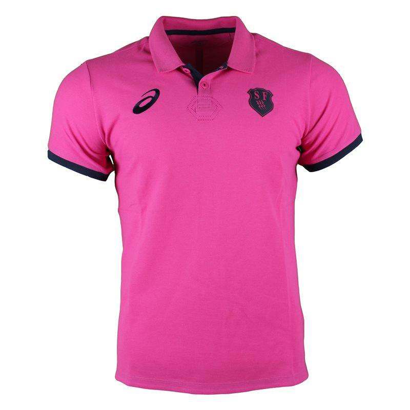 Stade Francais Rugby Media Polo 2017 - Sport Pink