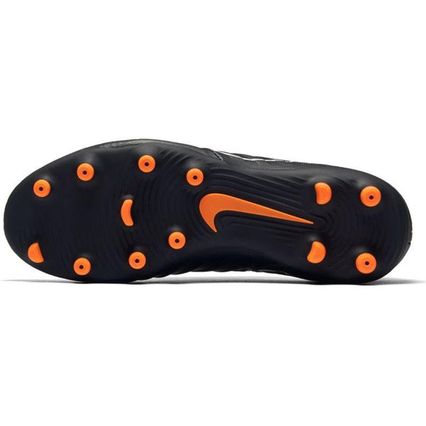 Jr. Legend 7 Club (FG) Firm-Ground Football Boot - Black/Total Orange