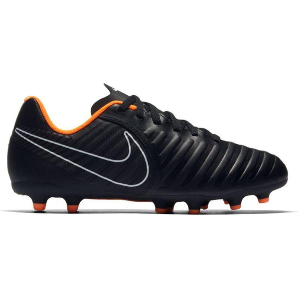 Nike Jr. Legend 7 Club (FG) Firm-Ground Football Boot - Black/Total Orange