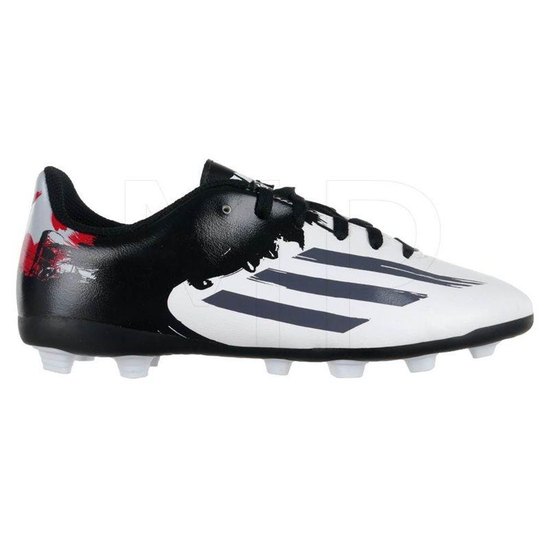 Messi 10.4 FxG Football Boots - Black/White/Red