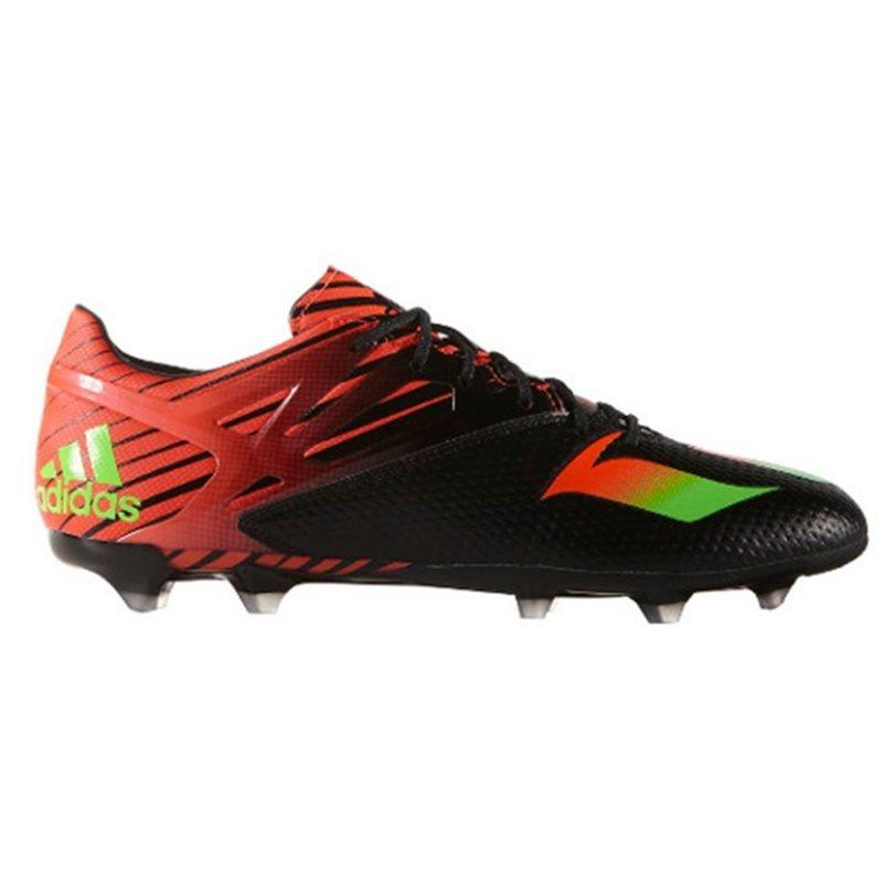 Messi 15.2 FG Football Boots - Black/Red