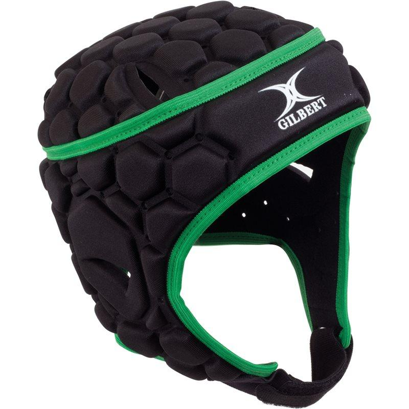 Falcon Rugby Headguard - Black/Green