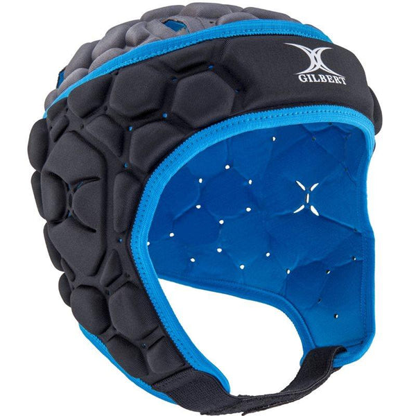 Gilbert Falcon Rugby Headguard - Electric Blue