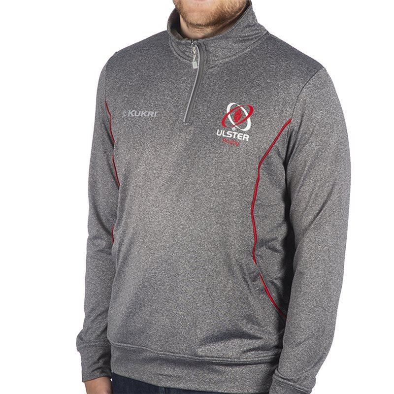 Ulster Rugby 18 Light Weight Track Top 1/4 Zip Jacket