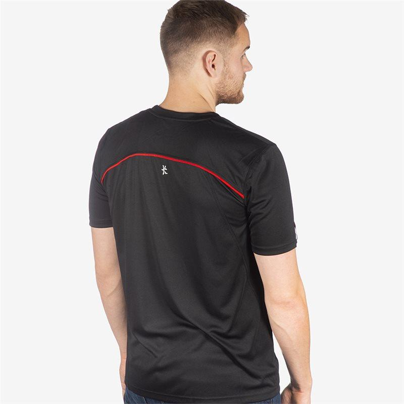 Ulster Rugby 18 Performance Athletic Fit T-shirt - Black