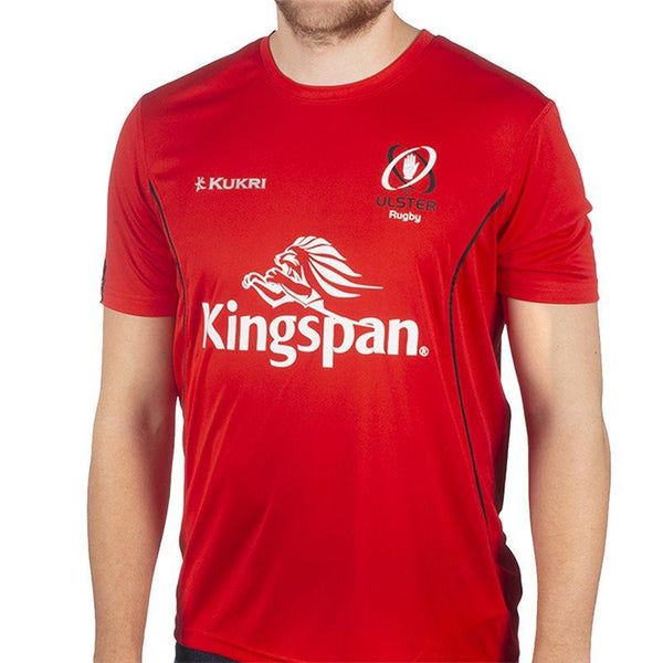 Kukri Ulster Rugby 18 Performance Athletic Fit T-shirt - Red