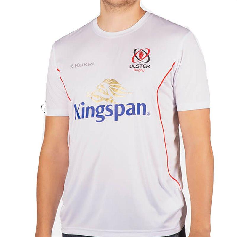 Ulster Rugby 18 Performance Athletic Fit T-shirt - White