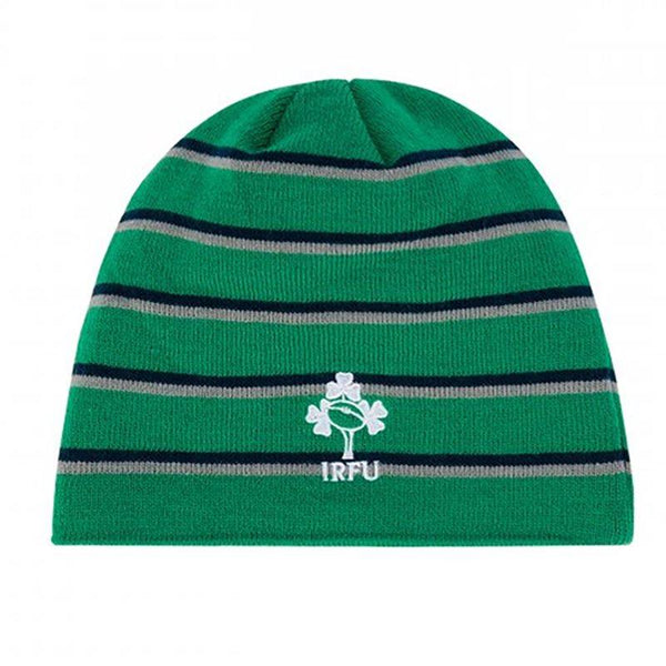 Canterbury Ireland Rugby Acrylic Fleece lined Beanie - Green