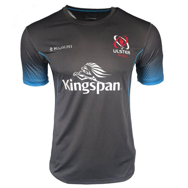 Kukri Ulster Rugby 2019 Technical Gym  Tee - Grey