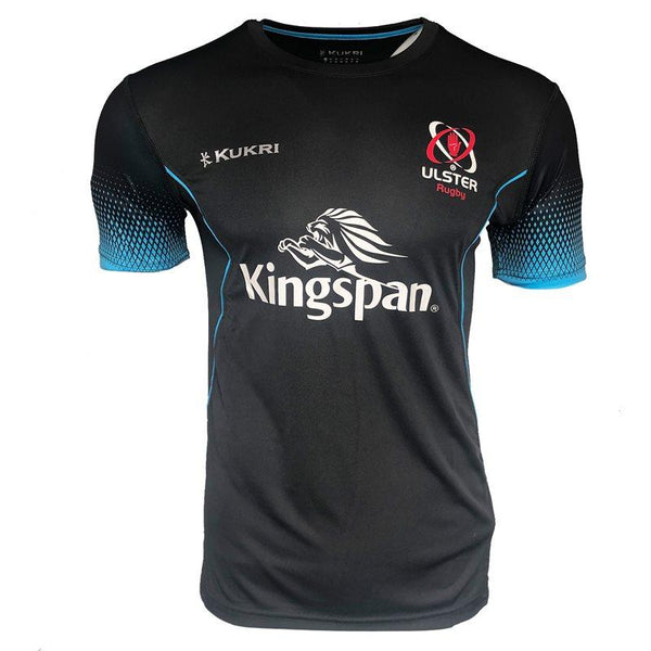 Kukri Ulster Rugby 2019 Technical Gym Kids Tee - Black