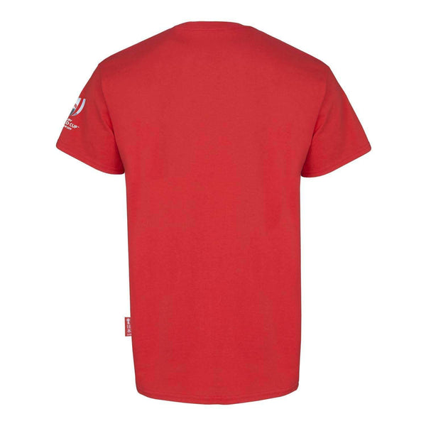RWC2019 - Mens Graphic T-Shirt - Script - Red