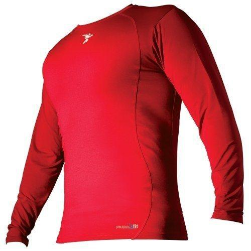 Precision Training Kids Baselayer L/S - Red