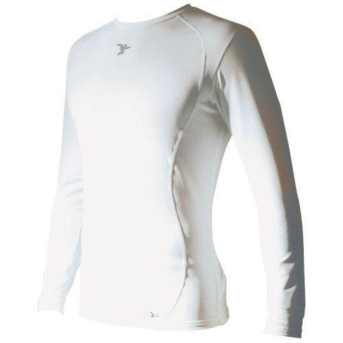 Precision Training Kids Baselayer L/S - White