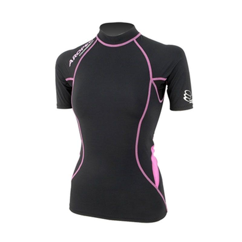 Ladies Compression Short Sleeve Top