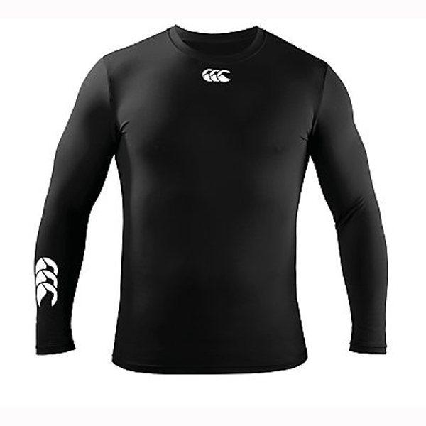 Canterbury Cold Long Sleeve Kids Baselayer - Black