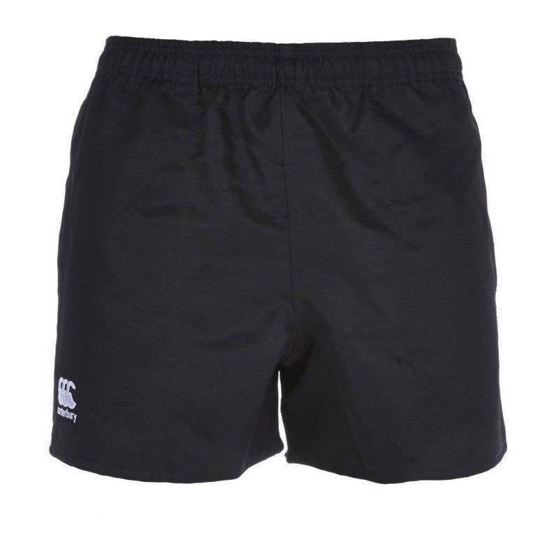 Junior Professional Shorts Polyester Twill - Black