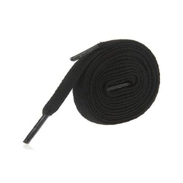Precision Training 140cm Flat Black Laces