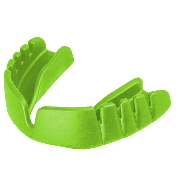 Opro Snap-Fit Junior Mouth Guard - Neon Green