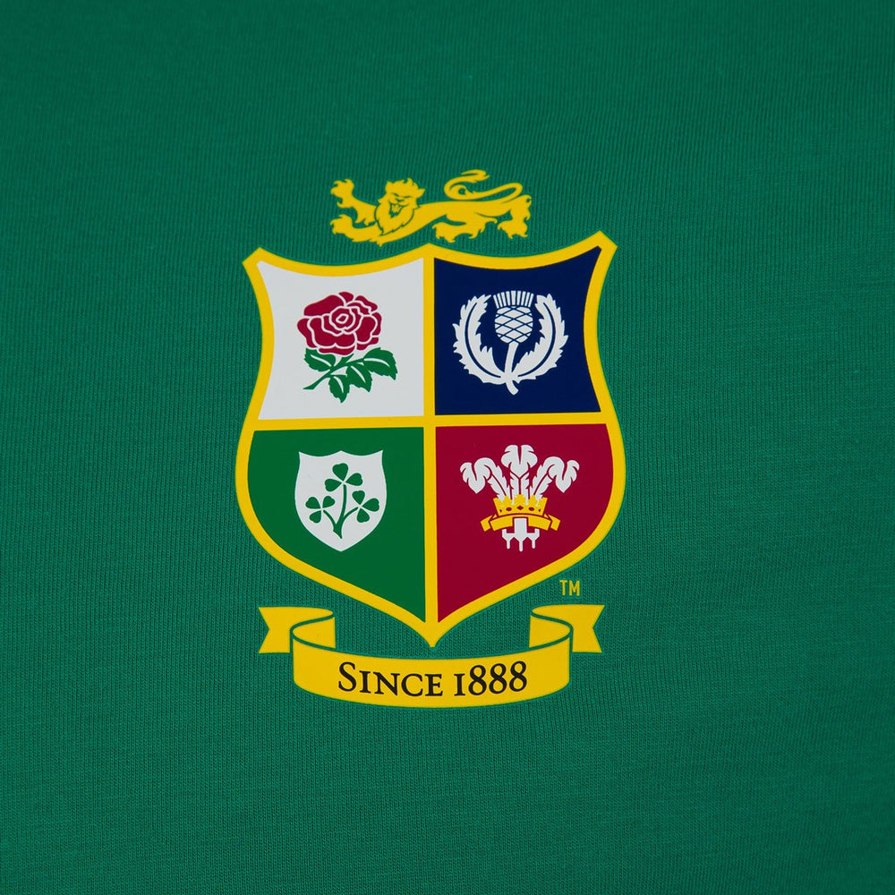 British & Irish Lions Cotton Jersey Tee - Green