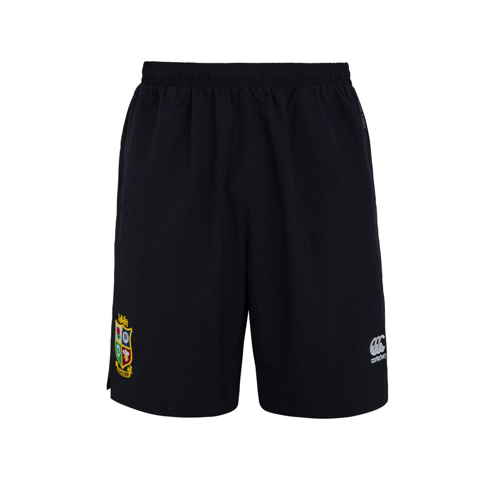 British & Irish Lions Woven Gym Short - Black