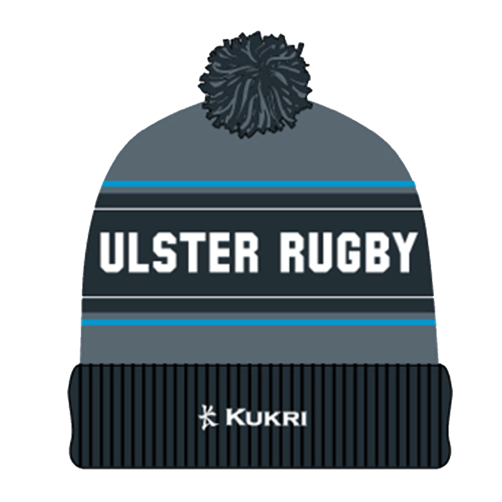 Ulster Rugby 2019 Ulster Bobble Hat - Charcoal