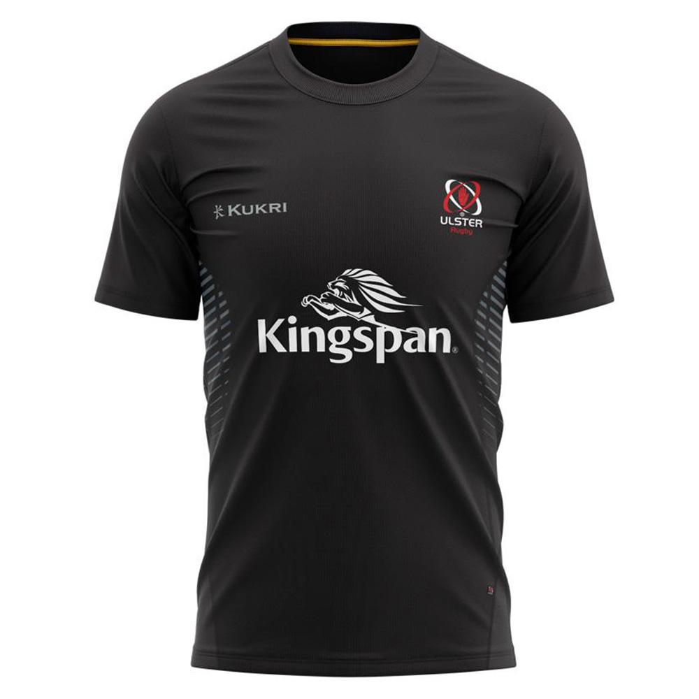 Ulster Rugby 2020/21 Gym Tee - Black- Kids