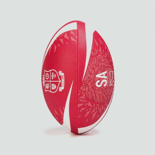 British & Irish Lions Thrillseeker Supporters Rugby Ball - Red