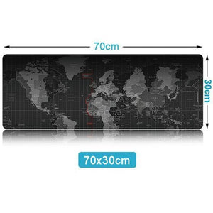 Gorgeous World Map Mouse Pad,  - Batoo