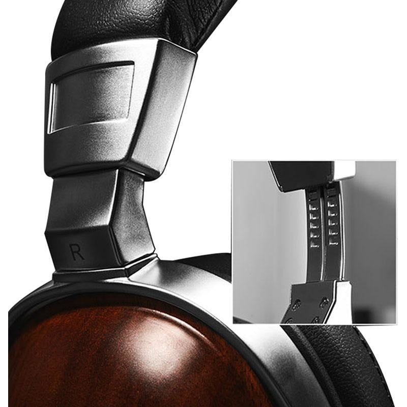1Pc BOSSHIFI B8 Stereo Wooden Over-ear Black Mahogany Earphone Headphone Headset,  - Batoo